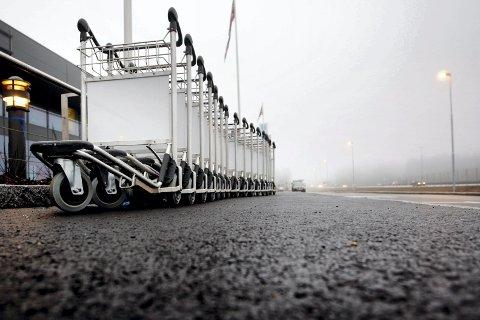 KUTTER: ISS, som blant annet har stått bak tralletjenesten på Oslo Lufthavn, kutter 72 årsverk ved flyplassen.