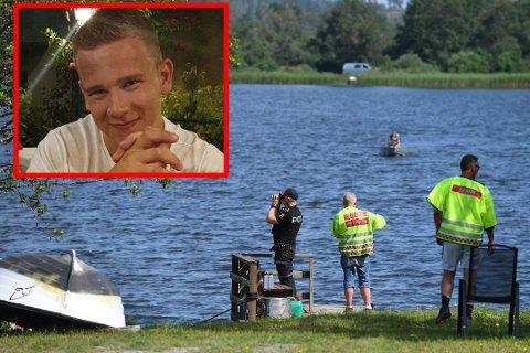 TRAGISK: En mann i 20-årene er tiltalt for uaktsomt drap etter ulykken på Hemnessjøen i fjor sommer. Torsdag avga moren til Martin Morgenlien Skamo sin forklaring i retten.