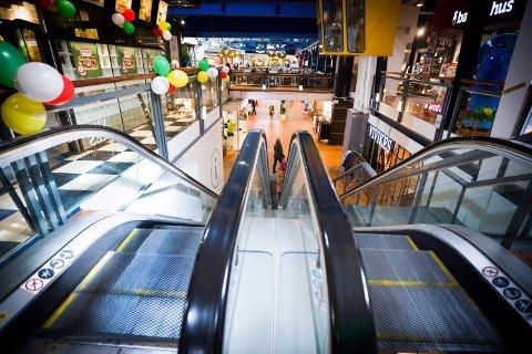 STRØMMEN STORSENTER: Det kan bli nye koronatiltak ved kjøpesentre og andre offentlige steder.
