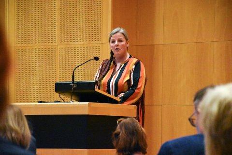 ØNSKER SAMARBEID: Senterpartiets Jane Bråthen tok opp utfordringer knyttet til ungdomsmiljøet i Lillestrøm. Dette er et arkivbilde.