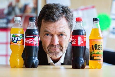 IKKE NOK: – Dette er ikke på langt nær nok til å gjøre noe med grensehandelproblemet, sier kommunikasjonsdirektør Per Hynne i Coca-Cola Norge.