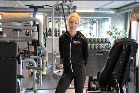 HJERTESAK: Line Birgitte Olestad ønsker å hjelpe de som bruker trening til rehabilitering.