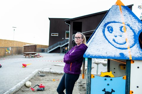 RAMMES HARDT: – Dersom Stortinget vedtar disse forslagene vil det ramme vår barnehage meget hardt, sier daglig leder Jeanette Sjetne i Hektneråsen FUS-barnehage.