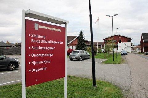 NYTT DØDSFALL: En beboer ved Stalsberg bo- og behandlingssenter på Strømmen har torsdag mistet livet som følge av koronaviruset.