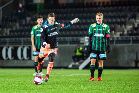 AVGJØRENDE: Keeper Stefan Hagerup var en matchvinner i mål da Ull/Kisa åpnet høstsesongen med seier borte mot Raufoss.