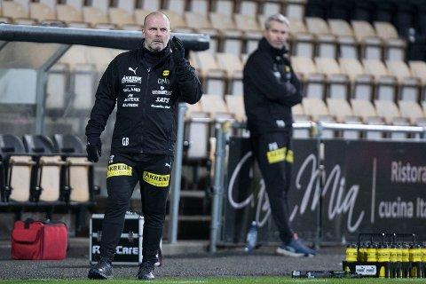 NULL TABELLFOKUS: LSK-trener Geir Bakke er opptatt av andre ting enn tabellsituasjonen før serieinnspurten.