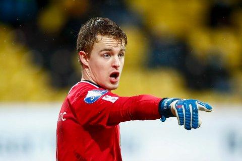 GOD RETUR: Grorud-keeper Emil Ødegaard er påutlån fra LSK. På Åråsen var han en av de beste på banen da Oslo-klubben berget plassen.