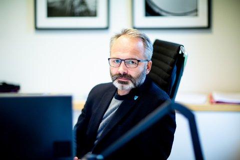 FORNØYD: Ordfører Jørgen Vik har fått en gledelig beskjed fra sentrale myndigheter. Fra uke 1 i 2021 er Lillestrøm kommune i gang med å vaksinere sine innbyggere.