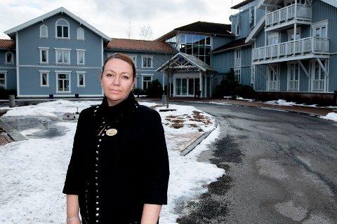 DRAMATISK ÅR: - Mens vi hadde 65 prosent belegg i 2019, sank det til 25 prosent i fjor, forteller direktør Heidi Fjellheim.