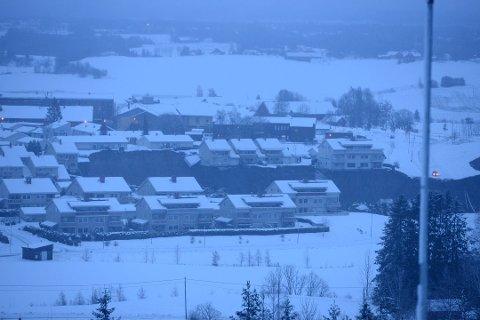 KVIKKLEIRESKRED: Det har gått et stort kvikkleireskred i Gjerdrum.