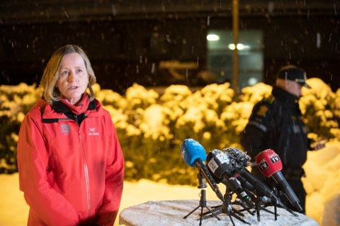 Ser ingen sammenheng: Regionsjef Toril Hofshagen i NNVE ser mener det ikke er grunn til å frykte ras i andre kvikkleireområder i Gjerdrum.  Det til tross for at 46 personer ble evakuert torsdag ettermiddag, kun to kilometer unna raskatastrofen i Ask.