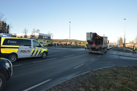 ULYKKER: På åtte år var det kun én ulykke i dette krysset ved Åsenhagen. Nå har det vært to alvorlige ulykker på én måned, og flere har etterlyst tiltak.