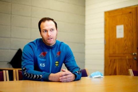 Ny utfordring: Knut Slatleim etterfølger Hege Riise som trener for LSK kvinner. 30-åringen har ikke bare funnet tonen med klubben han er asisstenttrener i dette året. Han er også samboer med en av spillerne.