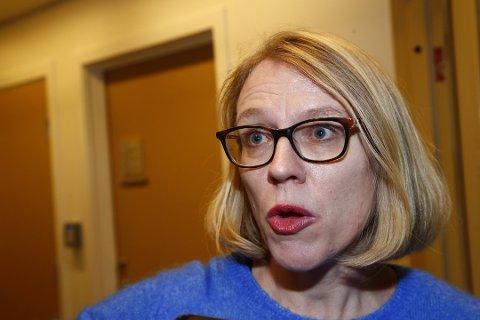 VIL EVALUERE: Anniken Huitfeldt (Ap), leder av Stortingets utenriks- og forsvarskomité.