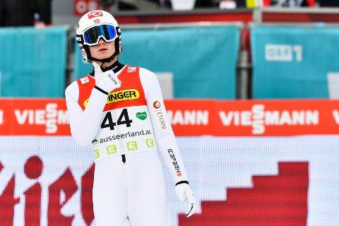 Marius Lindvik. Foto: Kerstin Joensson / AP / NTB scanpix