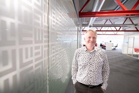 VOKSER: Administrerende direktør Dag-Adler Blakseth gleder seg over den nye Europa-avtalen selskapet har sikret seg.