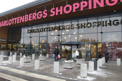 NY FORRETNING: Charlottenbergs shoppingcenter får på plass Christiania Glasmagasin til påske. Det er første etablering i Sverige.