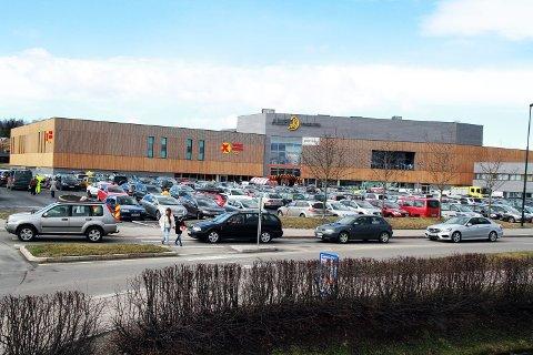 MISTET BUTIKK: Fra nyttår var det ikke mulig å handle på Stormberg ved Amfi Eidsvoll.