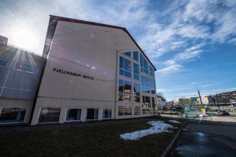 TOMT: Skolene på Romerike, blant annet Fjellhamar skole i Lørenskog, vil stå tomme i minst to uker.
