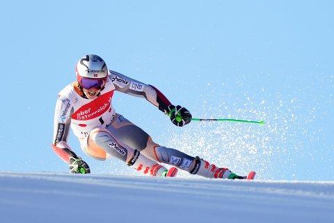 Henrik Kristoffersen ble beste norske med sin tredjeplass i Østerrike. Foto: Scanpix