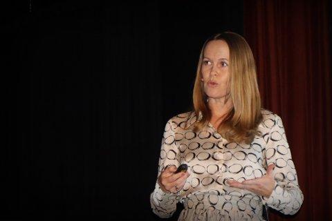 SATSER: Administrerende direktør Kathrine K. Ryengen. (Foto: Kunnskapsbyen Lillestrøm/Steinar Aasen)