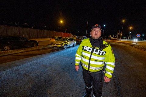 IKKE IMPONERT: UP-leder Ante Klemetsen er ikke fornøyd med en del av sjåførene på Romerike.