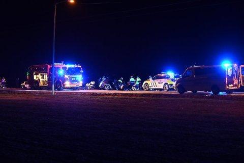 TILTALT: Politiet mener 23-åringen kom over i motgående kjørefelt i høy hastighet og kolliderte med ekteparet.