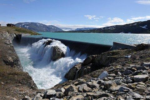 FULLE VANNMAGASIN: Og det gir rekordlave strømpriser utover våren. Foto: Bjørn Jørgensen (NTB Scanpix)