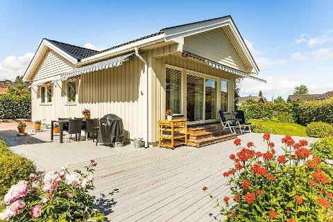 SOLGT: Denne boligen ble solgt for langt over prisantydning - midt under koronapandemien.