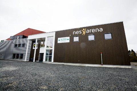 STORSTUE: I 2015 sto friidretts- og flerbrukshallen Nes Arena ferdig. Arkivfoto: Tom Gustavsen