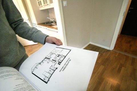 En av fem kjøpere av brukte boliger er misfornøyd med kjøpet. Illustrasjonsfoto: Jarl Fr. Erichsen / NTB scanpix