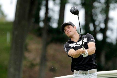 Viktor Hovland gjorde en god turnering i Connecticut. Foto: Frank Franklin II / AP / NTB scanpix