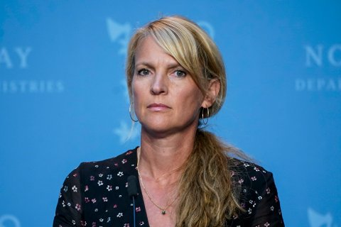 Barn blir sjelden smittet av covid-19, sier avdelingsdirektør Line Vold i Folkehelseinstituttet. Foto: Lise Åserud / NTB scanpix