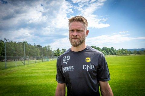 FORSVARSMUR: Marius Amundsen har sammen med lagkameratene nærmest stengt LSK-målet den siste måneden.