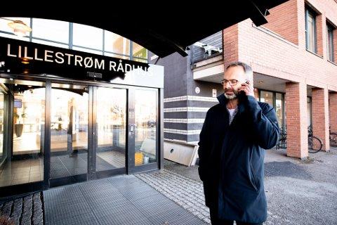 MØTTE FYLKESMANNEN: Jørgen Vik gjennomførte torsdag kveld et møte med Fylkesmannen i Viken og de andre ordførerne i distriktet.
