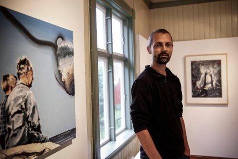 HOVEDUTSTILLER: Alf Christian Hvaring  er høstens hovedutstiller i Galleri Vinkelen på Fetsund lenser.