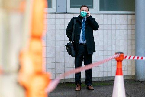 – KREVENDE: Espen Nakstad sier at det vil bli krevende vintermåneder i Norge. En del av årsaken til det er den store mengden med importsmitte. Foto: Fredrik Hagen/NTB