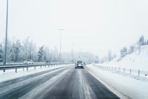 NEDBØR: Det er ventet store nedbørsmengder på Romerike de kommende dagene. Meteorologisk institutt advarer mot vanskelige kjøreforhold.