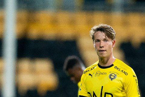 TIL AALESUND?: Kristoffer Ødemarksbakken kan være på vei til en ny klubb i løpet av kort tid.