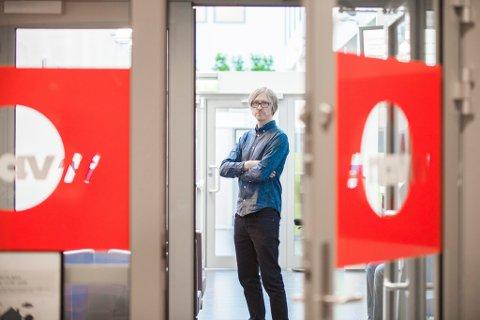 STOR ØKNING: Daniel Berg-Hansen hos Nav i Lillestrøm forteller at de har hatt en sterk økning i antall arbeidssøkere gjennom helga og mandagen.