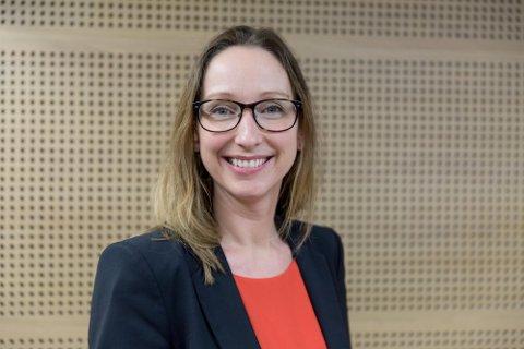 1,25 PROSENT: Sjeføkonom Kjersti Haugland i DNB Markets tror Norges Bank nøyer seg med fem renteøkninger. Foto: Paul Weaver