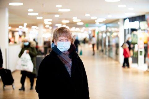 FORBEREDT: Lørenskog-ordfører Ragnhild Bergheim (Ap) blir ikke overrasket om mutantviruset kommer til kommunen.