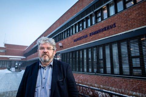 UTE AV KONTROLL: Nannestad kommune har ikke lenger kontroll over smittesituasjonen i kommunen, sier ordfører Hans Thue.