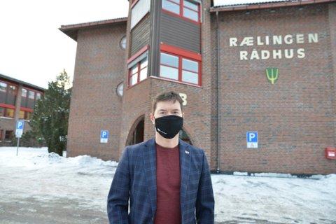 HØYEST SMITTETRYKK: Ståle Grøtta (Ap) er ordfører i Rælingen, kommunen som har det høyeste smittetrykket på Romerike.