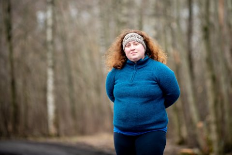 ØNSKER SEG FLERE VAKSINER: Kommuneoverlege i Nannestad, Matilde Risopatron Berg, mener at kommunen har ressurser nok til å få vaksinert flere enn det de gjør i dag. I dag er kommunen blandt de 20 kommunene som har vaksinert færrest i Norge.
