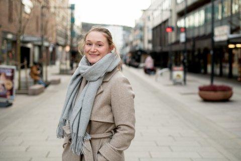 VALGTE LILLESTRØM: For Inger Fygle som var på jobbjakt, var valget enkelt da hun fikk fast jobb i Lillestrøm. Hun pakket bagen og flyttet til byen.