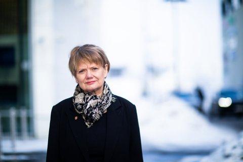 GLAD: Lørenskog-ordfører Ragnhild Bergheim (Ap) er fornøyd med smitteutviklingen den siste uka.