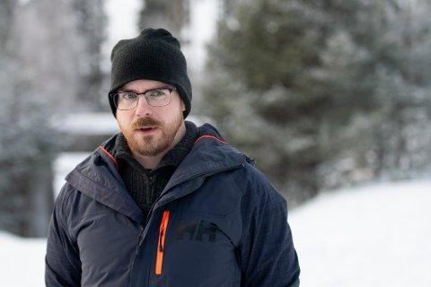 Kim Silkebækken er styreleder i Nei til ny E16 i Ullensaker.