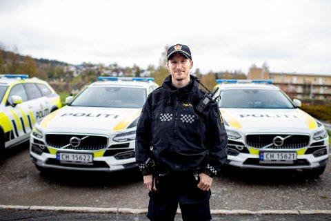 TIK TOK: Politimann Per Gladmann Sørheim fra Lillestrøm hadde en populær konto på Tik Tok.