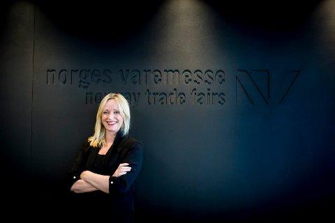ENDELIG: Gunn Helen Hagen, administrerende direktør i Norges Varemesse, gleder seg og gode nyheter.